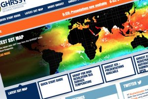 The Group for High Resolution Sea Surface Temperature (GHRSST)
