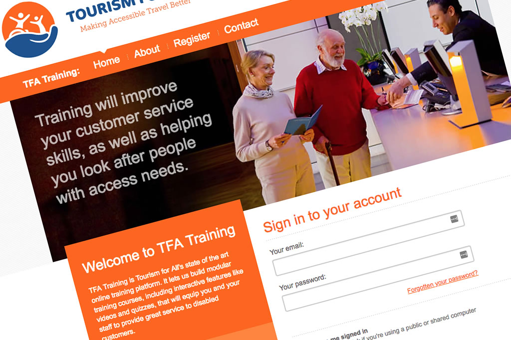 Tourism for All - Training Platform